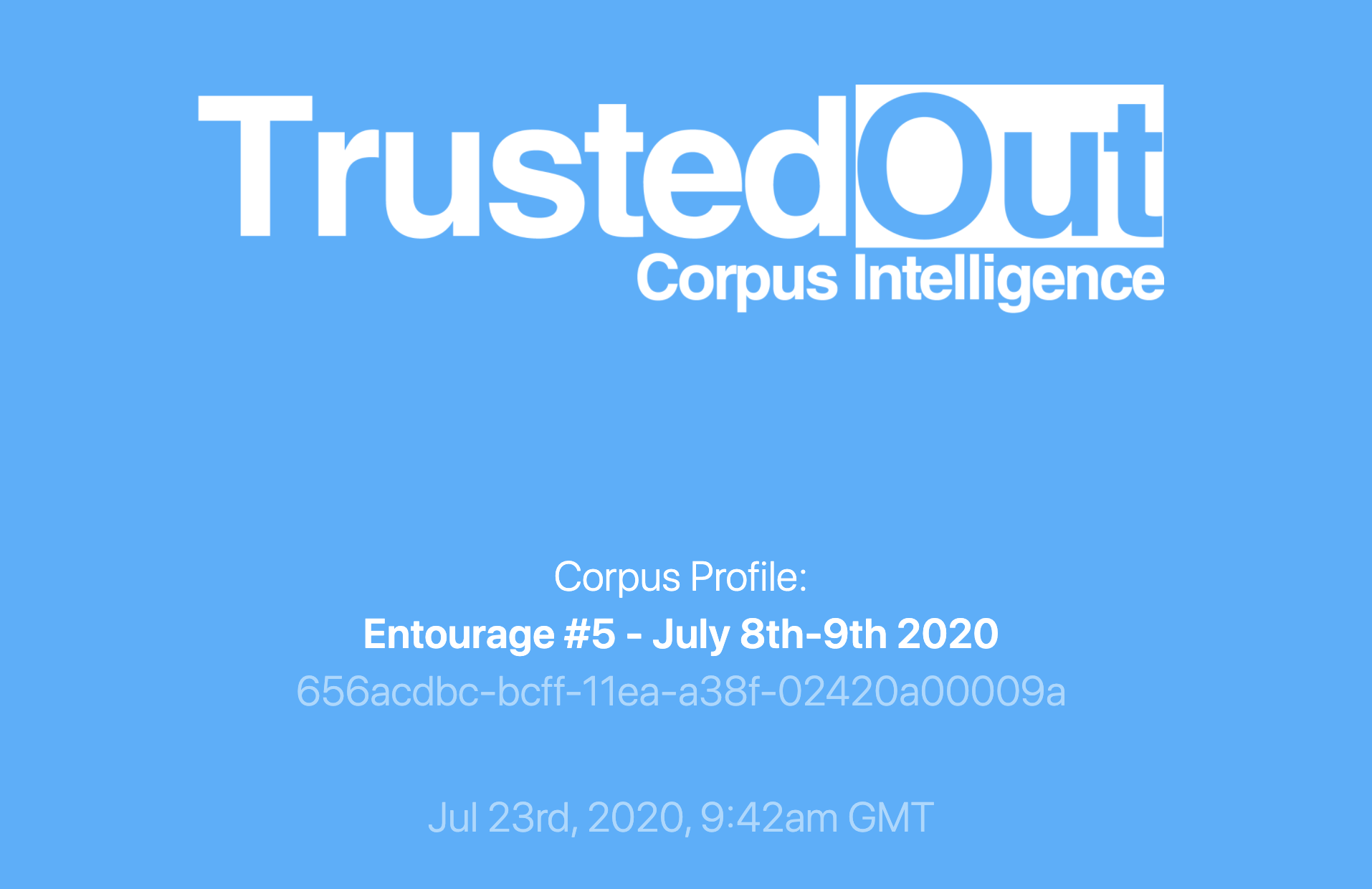 Download Corpus Profile